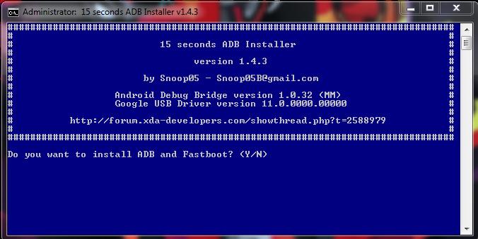 Download Minimal ADB and Fastboot Drivers